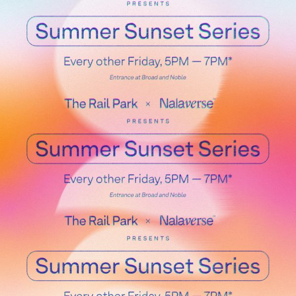 Summer Sunset Series, Every other Friday 5-7 PM, The Rail Park x Nalaverse